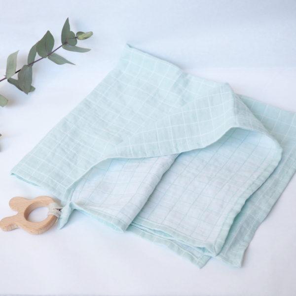lange coton bio mint anneau dentition lapin lily la moustache. Black Bedroom Furniture Sets. Home Design Ideas
