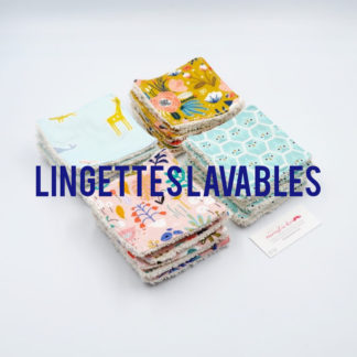 Les Lingettes Lavables